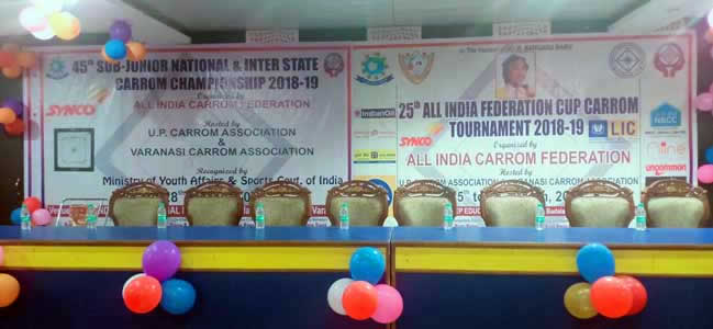 45th SUB - JUNIOR NATIONAL & INTER STATE CARROM CHAMPIONSHIP 2018-2019