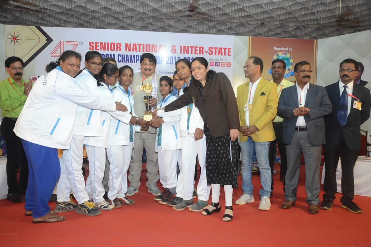 47th SENIOR NATIONAL & INTER STATE CARROM CHAMPIONSHIP 2018-2019
