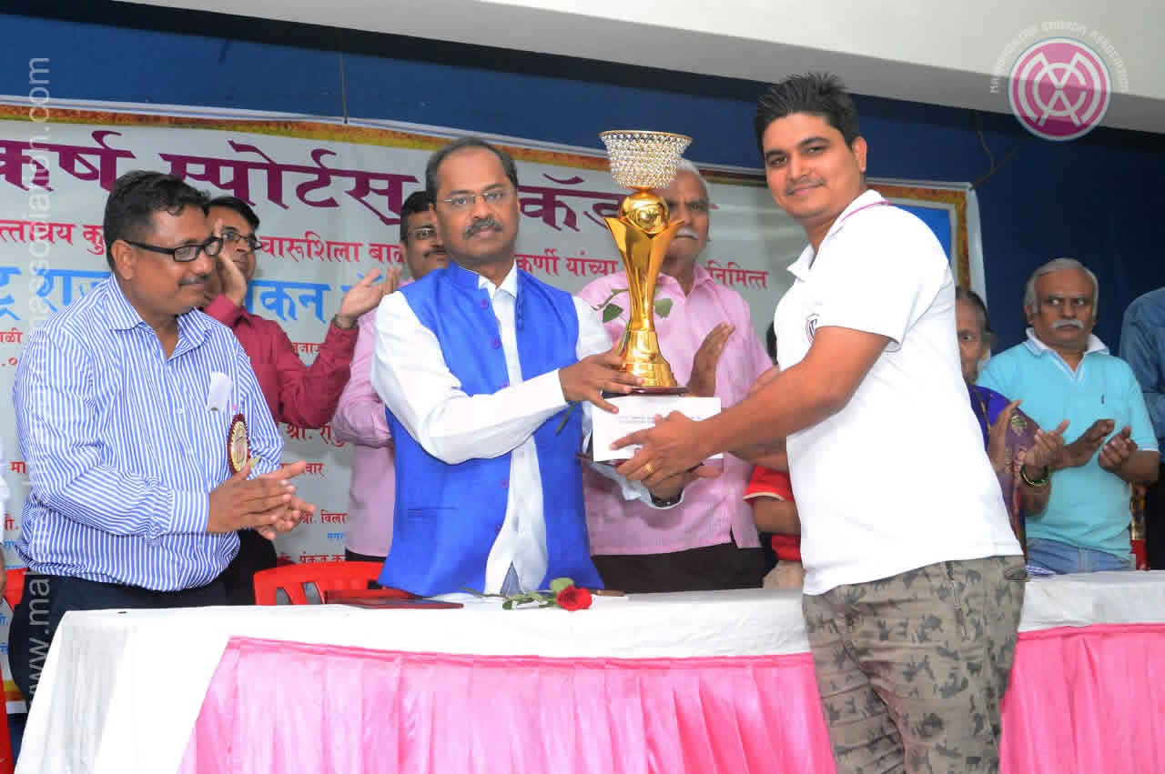 Men Single's Title  1st Runners Up  Vikas Dharia (Mumbai)