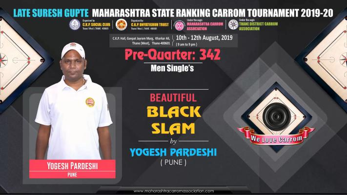 Beautiful Black Slam by Yogesh Pardeshi (Pune)