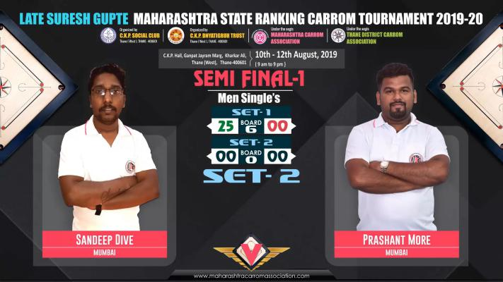 Sandeep Dive (Mumbai) vs Prashant More (Mumbai)