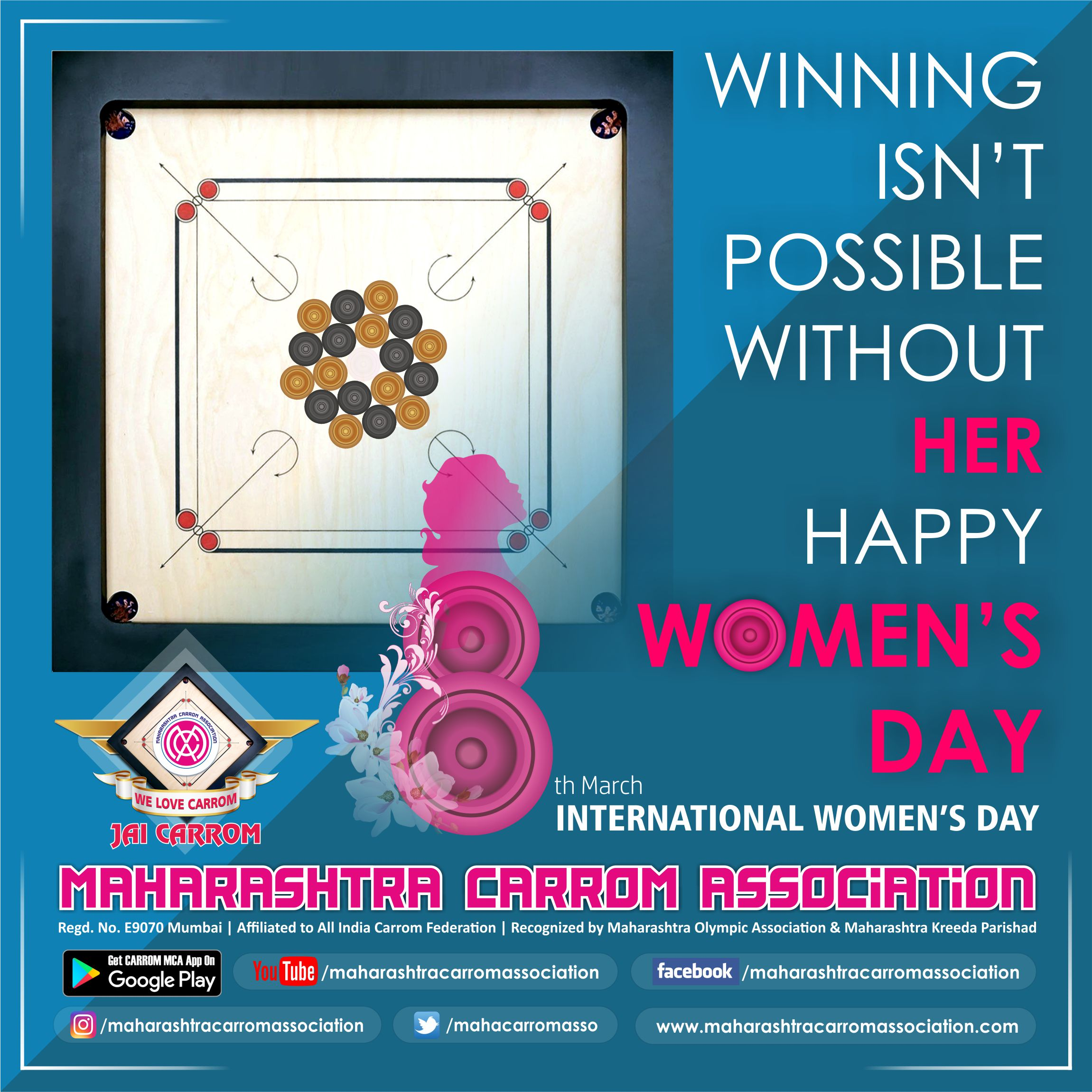 8th March INTERNATIONAL WOMEN'S DAY